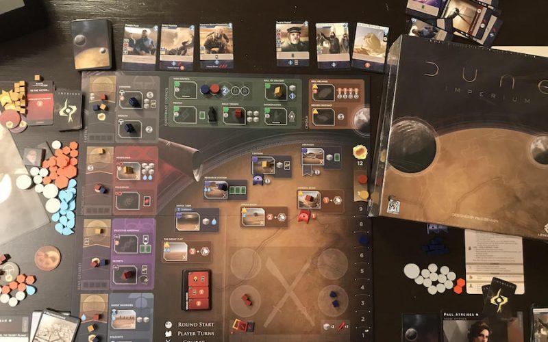 Dune: Imperium board game
