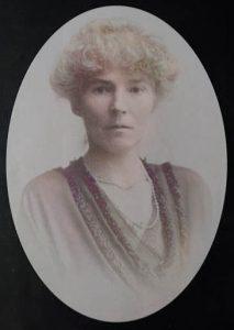 Gertrude Bell portrait 1921